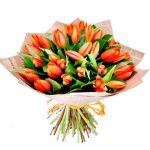 Oranžines tulpes