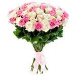 rozines ir baltos rozes