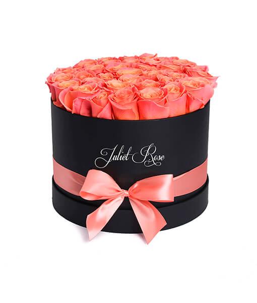 koralines rozes juoda dezute