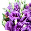 Violetiniu eustomu puokste foto 3