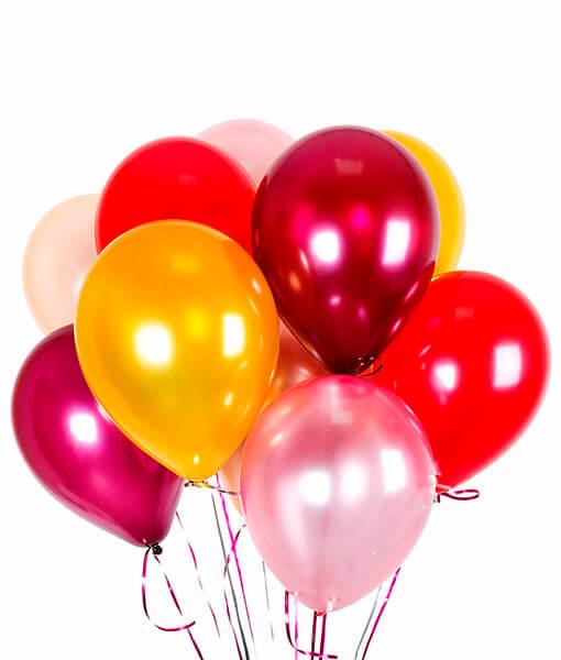 Ivairiaspalviai helio balionai